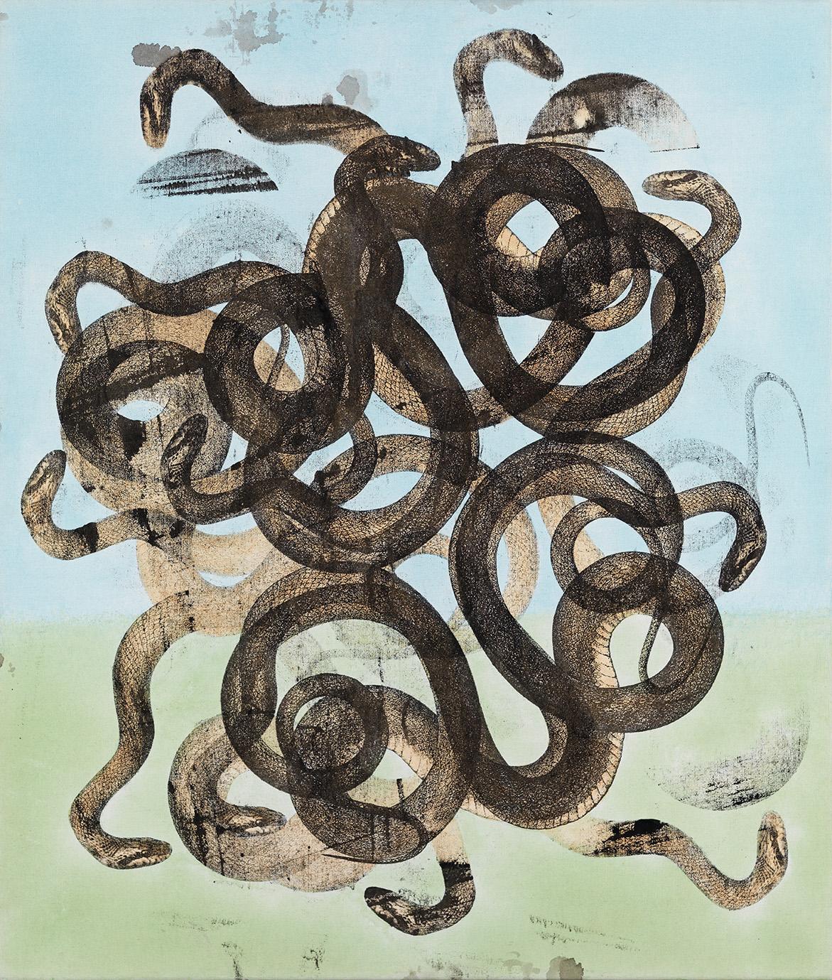 Philip Taaffe e David Aaron Angeli – Bulgari – Serpentiform