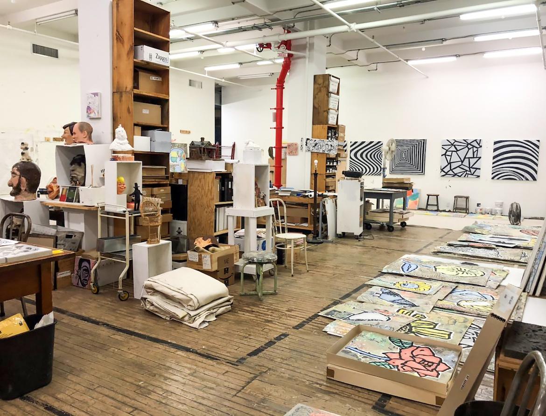 Donald Baechler – Studio Visit