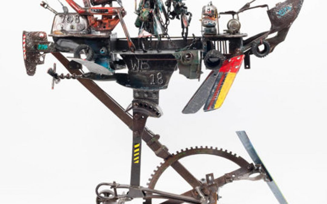 Willie Bester: Grow Box Art project