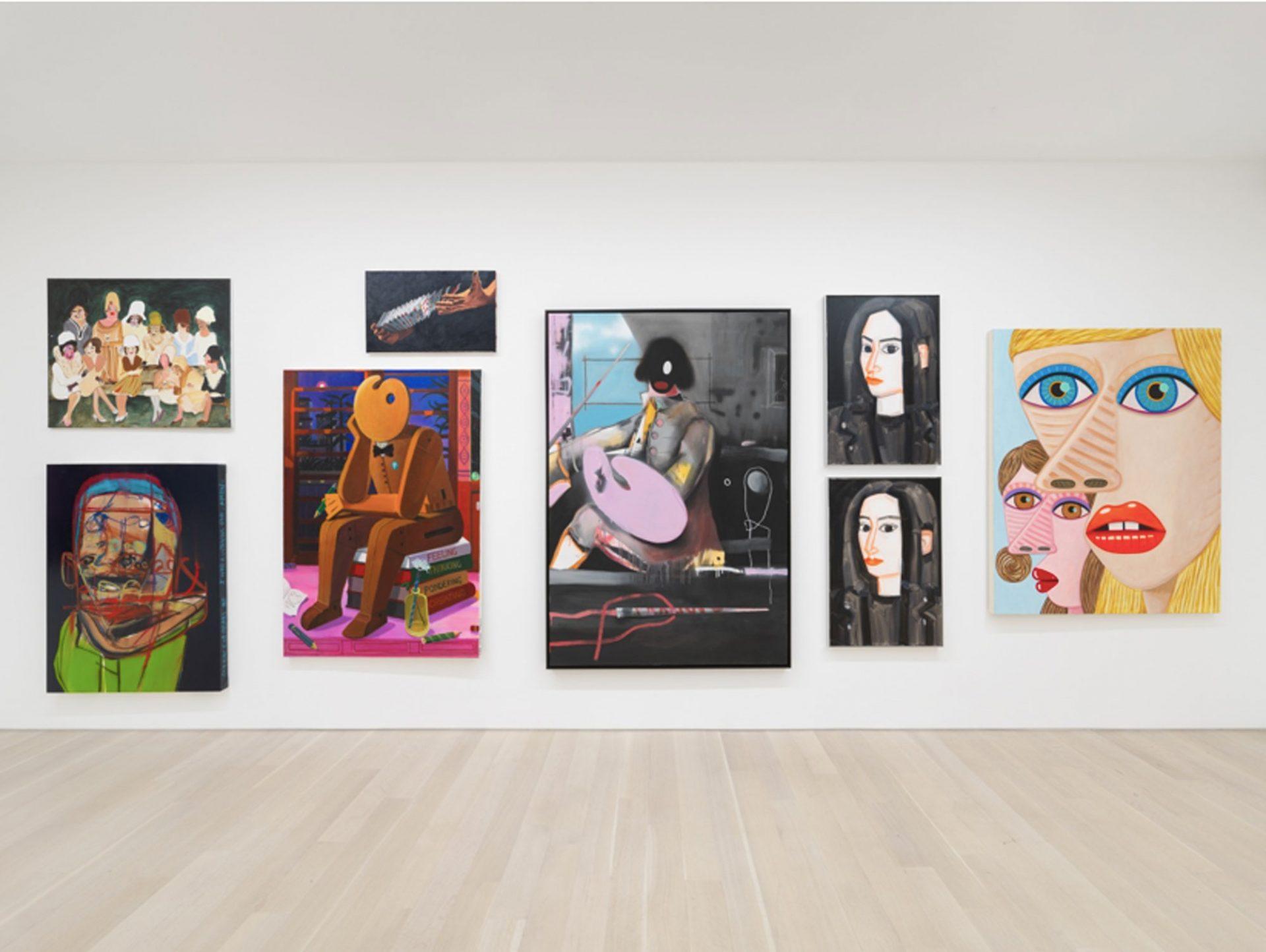 Salon de Peinture, Almine Rech Gallery